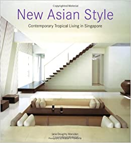 Asian contemporary in living new singapore style tropical