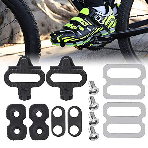 - Delaman Bicycle Pedals Cleat Set, Cycling Cleats Set Mountain Bike Accessories for SPD Pedals PD-M520 M540 M324 M545 M424 M647 M959
