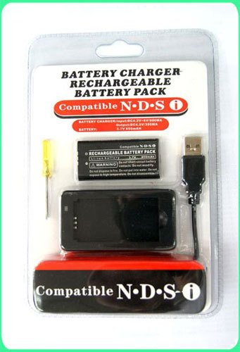 BATTERY PACK FOR NINTENDO NDSi NEW (Nintendo Ds Rechargeable Battery Pack)