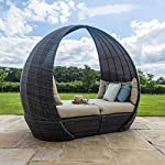 Maze-Rattan-Rattan-Tulip-Daybed-Lounger-Garden-Furniture-Feature-Grey-Weave