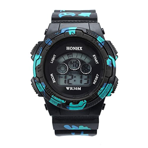 Price comparison product image Franterd Multi Function Digital LED Quartz Watch Water Resistant Electronic Sport Wrist Watches - Child