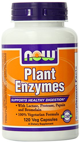 Now Foods, Plant Enzymes 120 Kapseln rein pflanzliche Verdauungsenzyme
