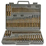 115pc Titanium Drill Bit Set w/ Index Case Number Letter Fractional $0 SHIPPING! by Brand New
