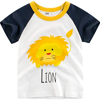 b605fbdd3f6e5 Amlaiworld ❤️Vêtements de Bébé Garçon Enfants garçons T-Shirt d ...