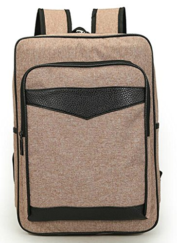 AOU Casual Waterproof Oxford Cloth School Backpack Multi-Functional