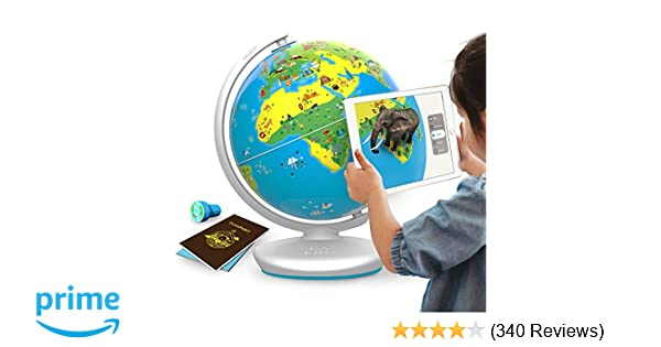 The Best Ipad Apps For Toddlers New Atlas >> Shifu Orboot App Based Augmented Reality Interactive Globe For Kids Stem Toy For Boys Girls Age 4 To 10 Years Educational Toy Gift No