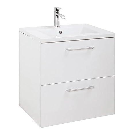 Randalco Modern Bathroom Floating Vanity Cabinet Set White