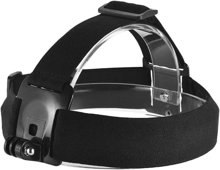 Andoer قابل للتعديل مضاد للانزلاق حزام رأس الكاميرا حامل لجو برو هيرو 7/6/5/4 SJCAM/YI