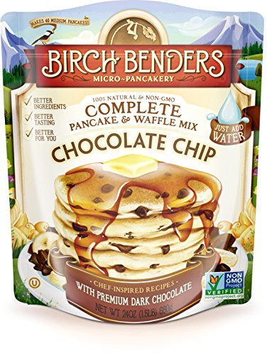 Birch Benders Pancake Waffle Mix Chocolate Chip, 24 oz