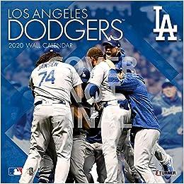Dodgers Calendar 2020 Los Angeles Dodgers 2020 Calendar: Inc. Lang Companies