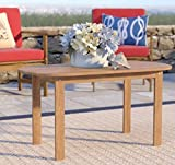 Multiuse Coffee Table, Brown Color, Solid Wood Acacia Material, Practical, Traditional, Wide, Multi-Purpose Durable And Sturdy,, Ideal Outdoor Complement, Backyard Garden Porch & E-Book.