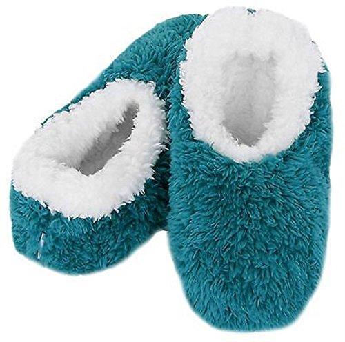 Adults omg snoozies colour emerald size 3-4