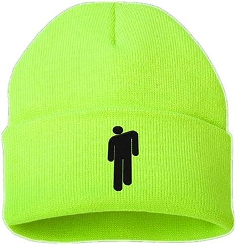 Jiushilun Sombreros Gorros Casuales de algodón para Hombres Mujeres Gorro de Invierno de Punto Sólido Hip Hop Gorra Unisex B: Amazon.es: Deportes y aire libre