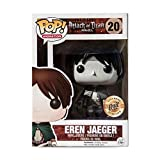 Funko Pop Animation Attack on Titan Figure - Eren Jaeger Monochrome Edition 2015 SDCC Exclusive