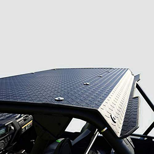 - 2014-15 Kawasaki Teryx 800 (2 seater) Black Powder Coat Aluminum Diamond Plate Top By Over Armour Offroad KAW-14TERYX-HT01