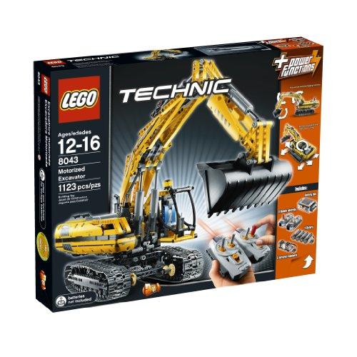 Lego Technic Excavator - LEGO TECHNIC  Motorized Excavator 8043