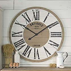 VIP Home Wood Wall Clock 36