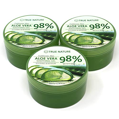 KPI Healthcare Aloe Vera 98% Soothing Gel Moisture Aloe3 Packs