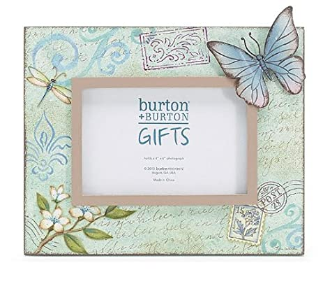 Amazon.com: Mariposa Garden Decal Wooden Butterfly Frame: Posters ...
