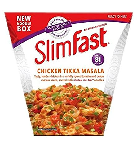 Slimfast Chicken Tikka Masala Noodle Box 250G - Pack of 2