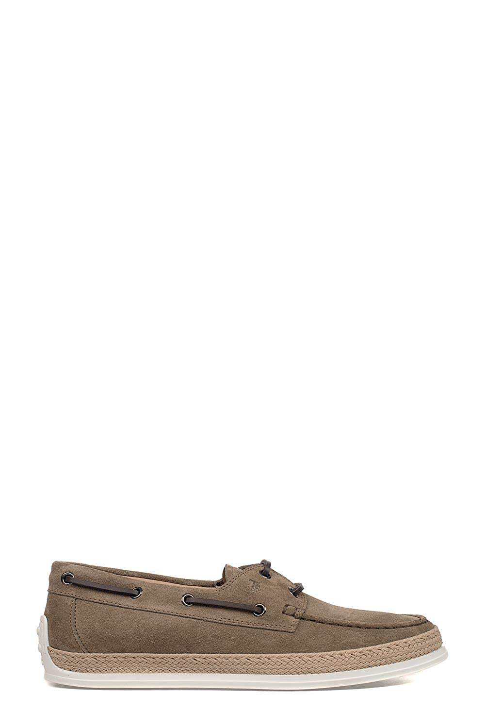 - Tod's Men's XXM0TV05300RE0C405 Brown Suede Loafers