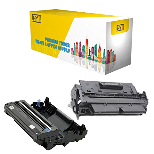 (New York Toner New Compatible 2 Pack High Yield Drum & Toner for Brother DR600 TN670 - HL Printers : HL-6050 | HL-6050D | HL-6050DN | HL-6050DW . -- Black)