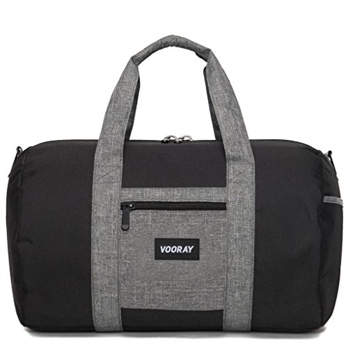 vooray-roadie-16-small-gym-duffle-bag-black-heather-gray