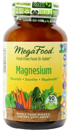 MegaFood magnésium comprimés, 90 Count