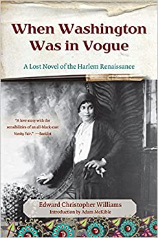 When washington was in vogue a lost novel of the harlem - Lost in vogue ...