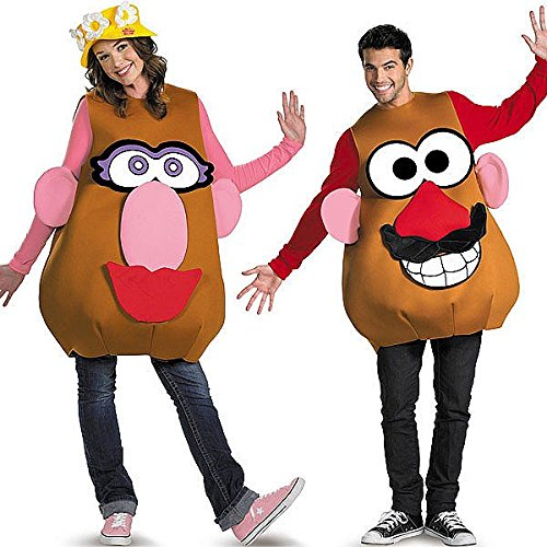 [Deluxe Mr. Potato Head Costume - X-Large - Chest Size 42-46] (Mr Potato Head Costumes For Adults)