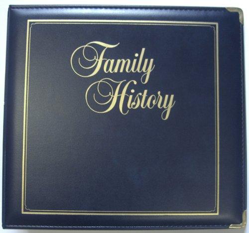 Executive Family History Binder, Navy