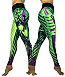 Exit 75 Superhero Many Styles Leggings Yoga Pants Compression Tights (She Hulk Green Sm/Med)