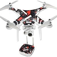 MightySkins Protective Vinyl Skin Decal for DJI Phantom 3 Professional Quadcopter Drone wrap cover sticker skins Mixtape