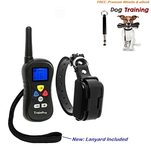 Good Bearded Halloween Costumes (EveryPet 3.0 Version Water Resistant Rechargeable Training Shock Electric Collar with Remote for 1 Dog)