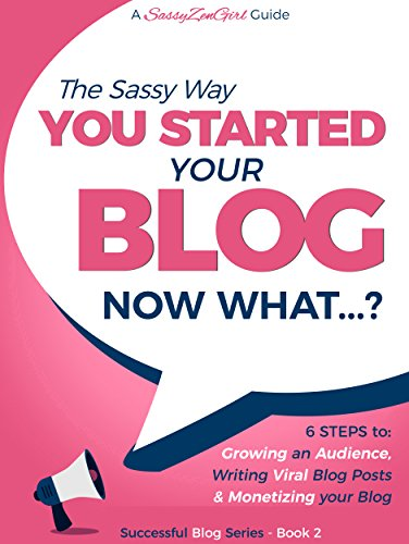 You Started a Blog - Now What.?: 6 Steps to Growing an Audience, Writing Viral Blog Posts & Monetizing your Blog (Beginner Internet Marketing Series Book 3)