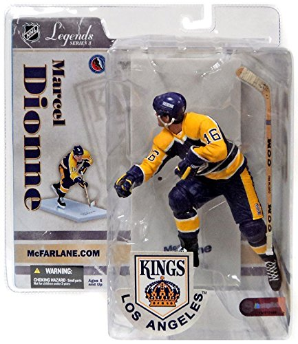 Mcfarlane Toys Nhl Sports Picks (McFarlane Toys NHL Sports Picks Legends Series 3 Action Figure Marcel Dionne (Los Angeles Kings) Purple Helmet)