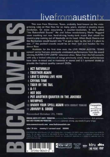 Buck Owens: Live from Austin, TX by RED Distribution (Image #1)