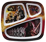 Zak Designs Star Wars: The Force Awakens 3-section