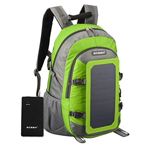 Solar Charger Backpack For Tablets, Smartphones And Other USB-Charged Devices made our list of great solar products for camping
