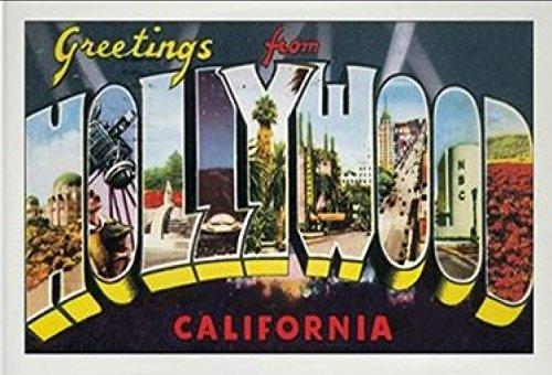 (California USA United States Fridge Refrigerator Magnet (City: Hollywood #K2))