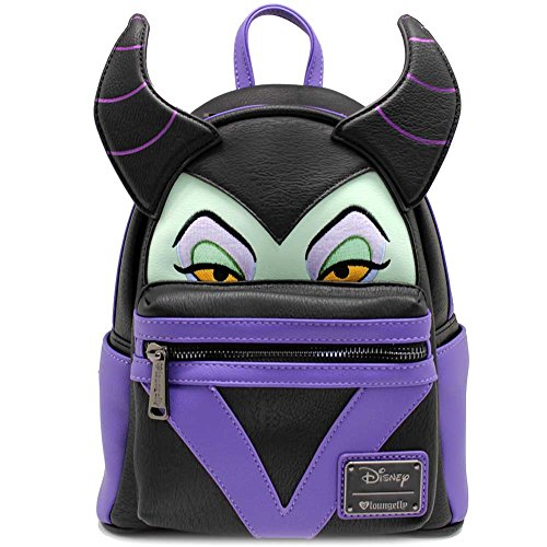 Loungefly Maleficent Faux Leather Mini Backpack Standard from Loungefly