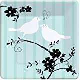 Two Love Birds Bridal Shower 7″ Dessert Plates 8 Pack, Health Care Stuffs