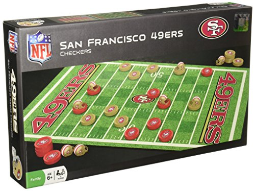 49ers Checkers, San Francisco 49ers Checkers, 49ers ...
