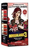 Splat | Borderlands 3 | Lilith Fire Ombre Hair Color with Bleach | Complete Hair Dye Kit | Semi-Permanent | 30 Wash | Vegan and Cruelty-Free
