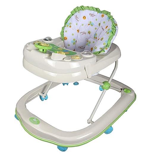 Baby Walkers Ajuste de 7 Posiciones Andador para bebé, Plegable y ...