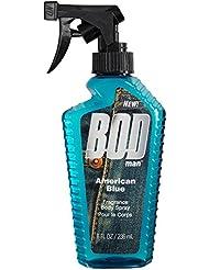 BOD Man American Blue Fragrance Body Spray, 8 fl oz