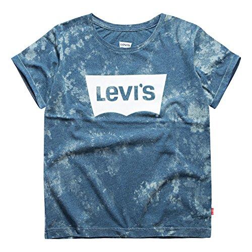 - Levi's Girls Classic Batwing T-Shirt, Ice Blue, 5