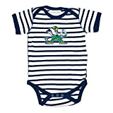 Two Feet Ahead Notre Dame Fighting Irish Striped NCAA College Newborn Infant Baby Creeper (12 Months)