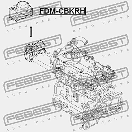 Febest: FDM-CBKRH RIGHT ENGINE MOUNT HYDRO