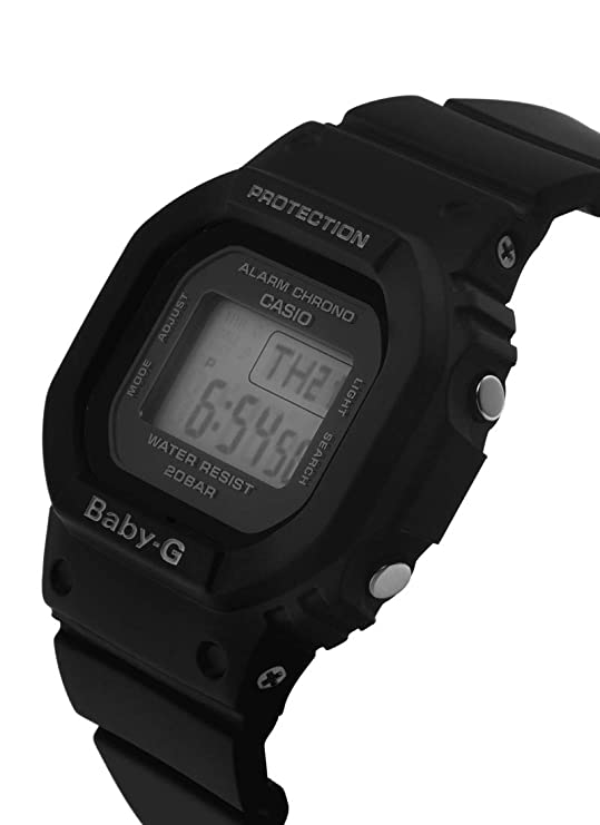 Casio Reloj Digital para Mujer de Cuarzo con Correa en Resina BGD-560-1ER: Amazon.es: Relojes
